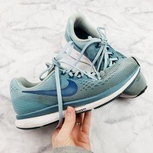 Nike|Air Zoom Pegasus 34 in Ocean Bliss/Blue